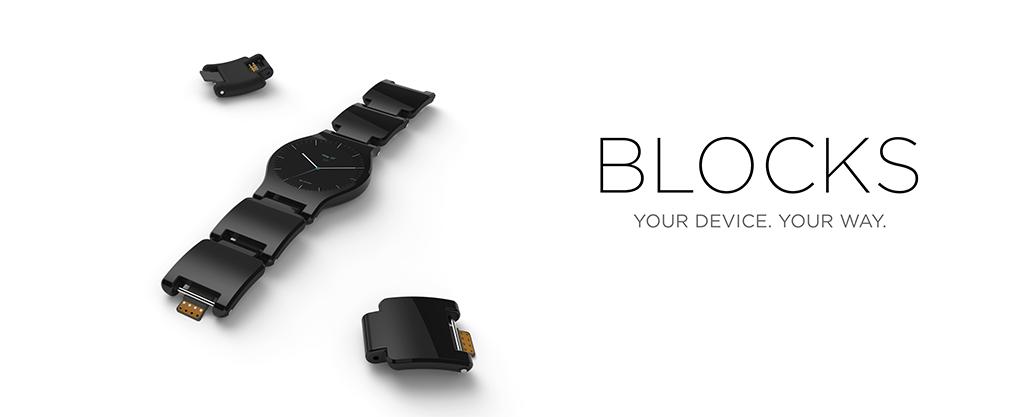 Die erste richtig modulare Smartwatch geht bei Kickstarter an den Start - Block (Bild: © BLOCKS Wearables Ltd)