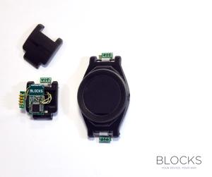 Noch nicht wirklich schön, aber immerhin ein funktionierender Prototyp. (Bild: © BLOCKS Wearables Ltd)
