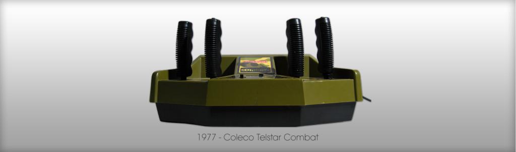 Früher hat man sich noch was getraut- Panzer-Telespiel mit entsprechender Steuerung - Coleco Telstar Combat von 1977 (Bild: © Oliver Thiele / miy.de)