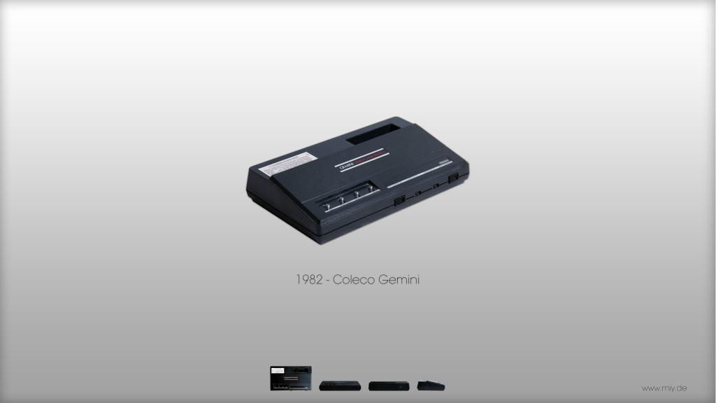 Coleco Gemini von 1982 (Bild: © Oliver Thiele / miy.de)
