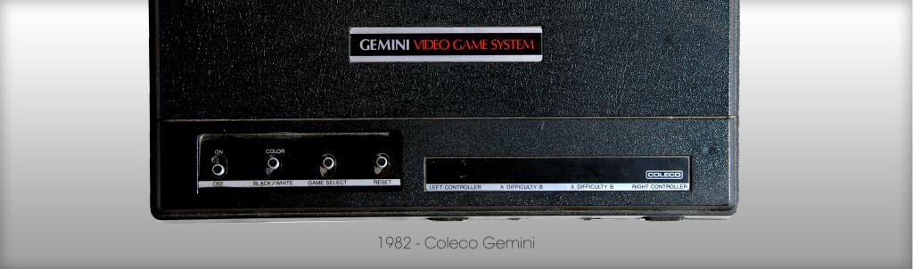 Atari 2600 Klon von Coleco - das Gemini von 1982 (Bild: © Oliver Thiele / miy.de)