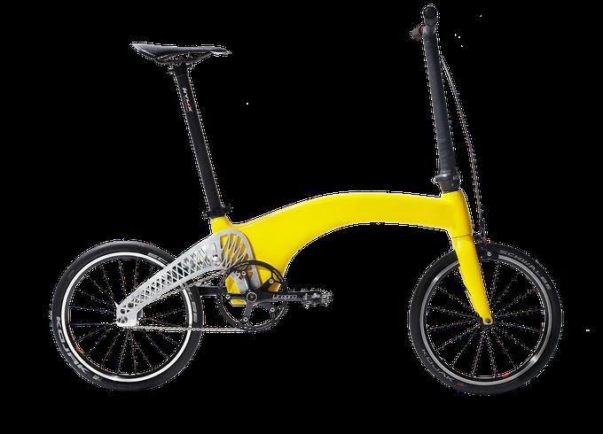 Leicht, leichter, am leichtesten - das Hummingbird Faltrad (Bild: kickstarter/ © hummingbirdbike.com)