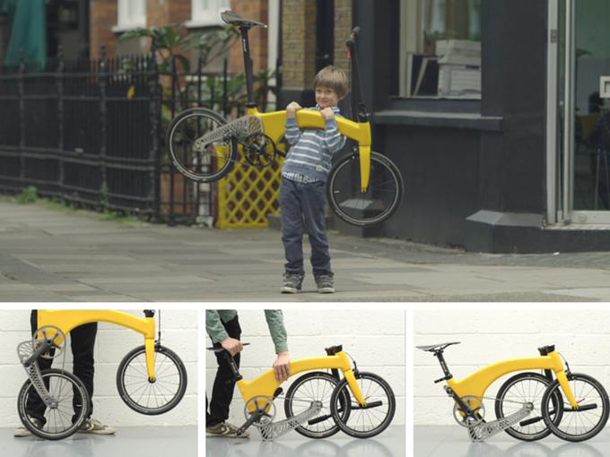 Am leichtesten ber nicht unbedingt am kleinsten (Bild: kickstarter/ © hummingbirdbike.com)