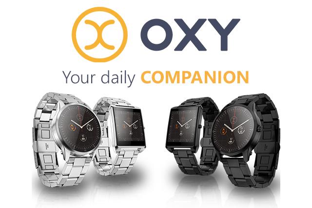 Sicherheit durch ein offenes System - OXY Smartwatch (Bild: © OXY)