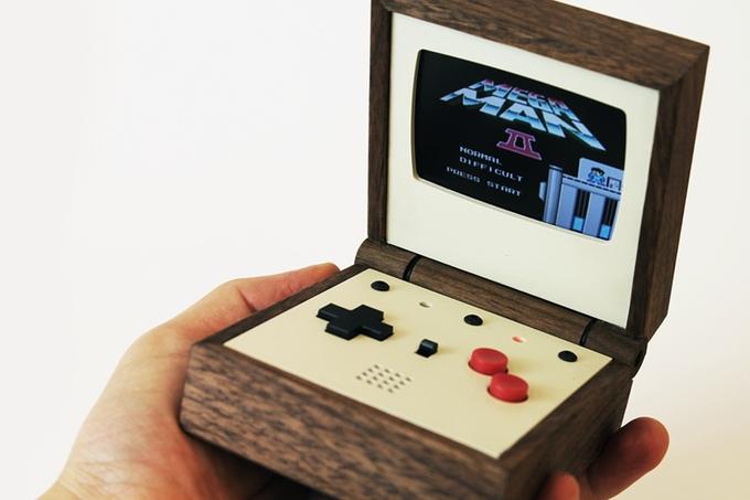 Game Boy in edel - Pixel Vision von Love Hultén (Bild: kickstarter/© Love Hultén)
