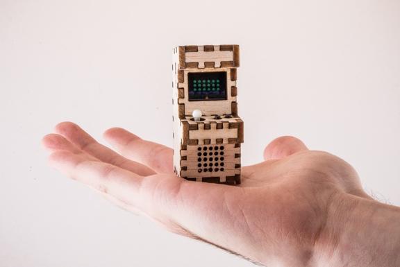 Klein, kleiner, am kleinsten - Tiny Arcade (Bild: kickstarter/© Tiny-Circuits.com)