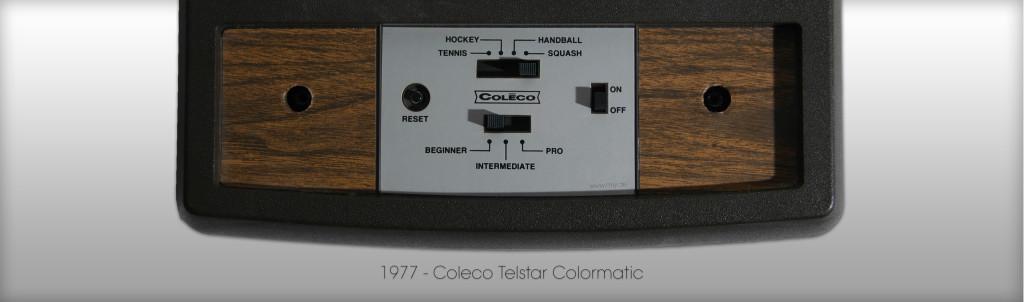 Endlich mal Pong in Farbe mit der Coleco Telstar Colormatic von 1977 (Bild: © Oliver Thiele / miy.de)
