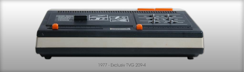 Kein Highlight aber ein gutes Beispiel für die Pong-Massenware der End-70er Jahre. Exclusiv TVG 209-4 von ca. 1977. (Bild: © Oliver Thiele / miy.de)
