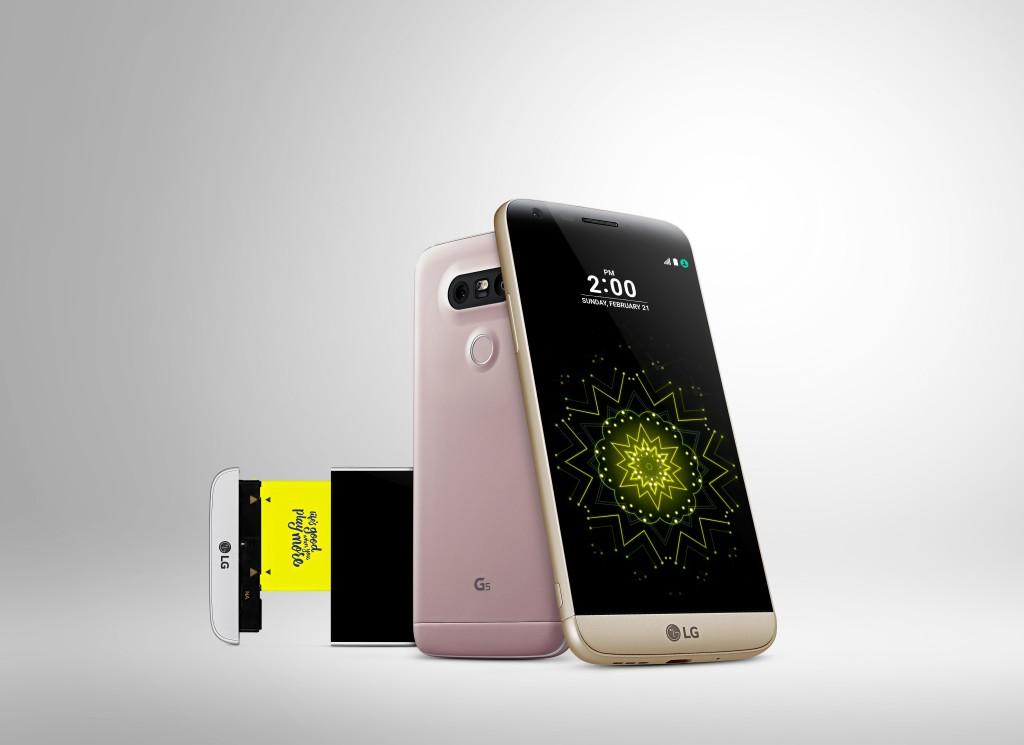Smartphone mit Erweiterungsmöglichkeit... leider wohl nur halbherzig umgesetzt - LG G5 (Bild: © LG)