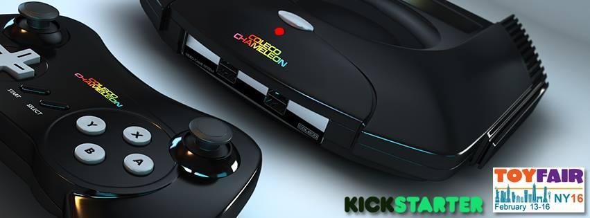 Coleco mit Jaguar-Gehäuse. Ab dem 26.2.16 bei Kickarter (Bild: © Retro Video Game Systems Inc.)