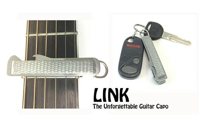 Kleiner, aber feiner Kapodatser - LINK (Bild: kickstarter/ ©ricsalazar.com)