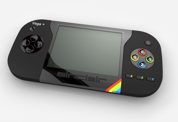 Coole Optik, leider nur gerendert - Sinclair ZX Spectrum Vega+ (Bild: indiegogo/©Retro Computers Ltd )
