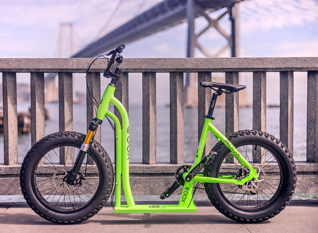 Fahrrad? Tretroller? Beides! Das Moox Bike (Bild: © Moox Inc.)