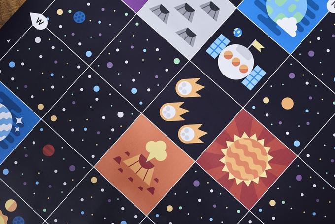 Verschiedene Bodenpläne laden zum spielen ein (Bild: kickstarter/© primotoys.com)