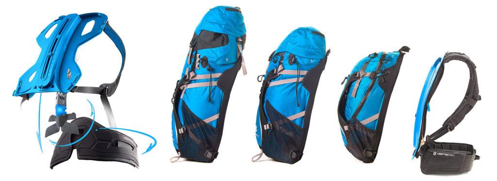 Modular und rückenschonend - VERTEPAC, der Rucksack mit Rückgrat (Bild: © VERTEPAC)