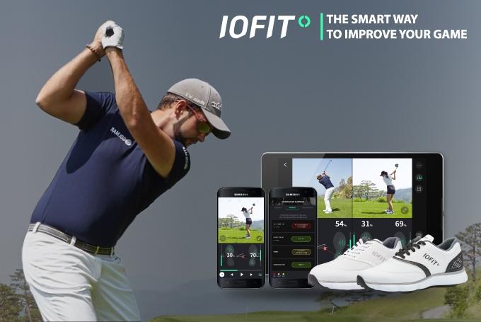 Schwunganalyse durch smarte Golfschuhe - IOFIT (Bild: kickstarter/© IOFIT)