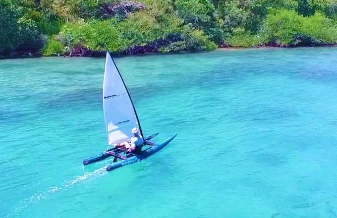 Segler im Rucksack - Kayakat (Bild: kickstarter/© kayakat)