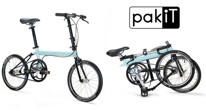 Nicht das kleinste Faltrad, aber dafür sehr leicht - pakiT (Bild: kickstarter/ © Bike Friday)
