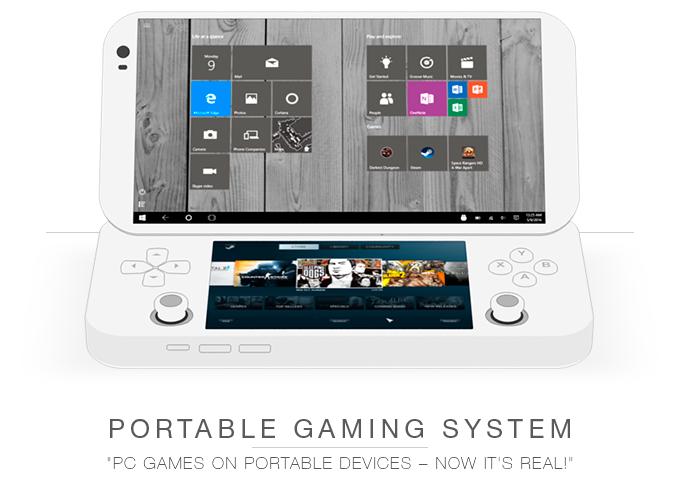 Windows 10 und Android 6 im Dualboot, aber mmit Fragezeichen - PGS (Bild: kickstarte/©pgslab)