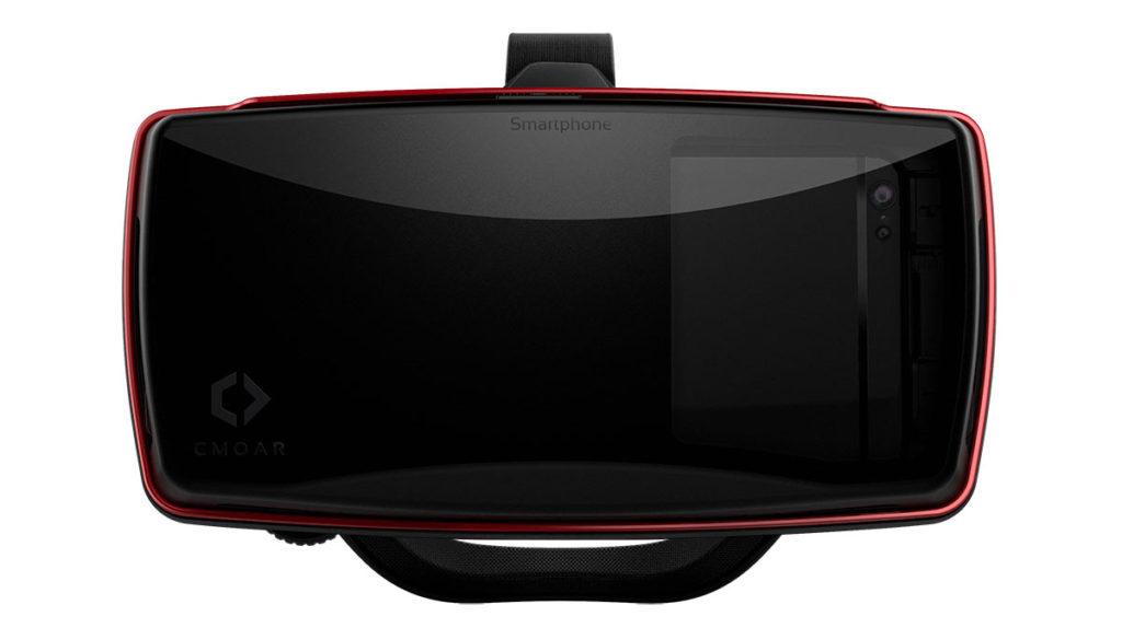 Hat mit dem ursprünglich vorgestellten Projekt nicht mehr viel zu tun - CMOAR VR-Brille (Bild: ©cmoar)