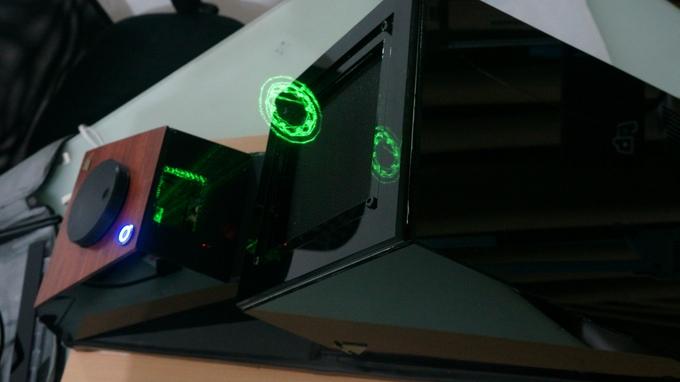 3D in der Luft - Holovect (Bild: kickstarter/ © Jaime Ruiz-Avila)