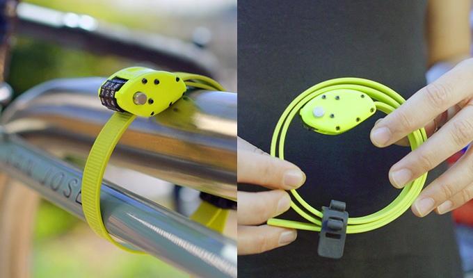 Kleiner kann ein Fahrradschloss nur schwerlich sein - OTTOLOCK (Bild: kickstarter/© OTTO DesignWorks)