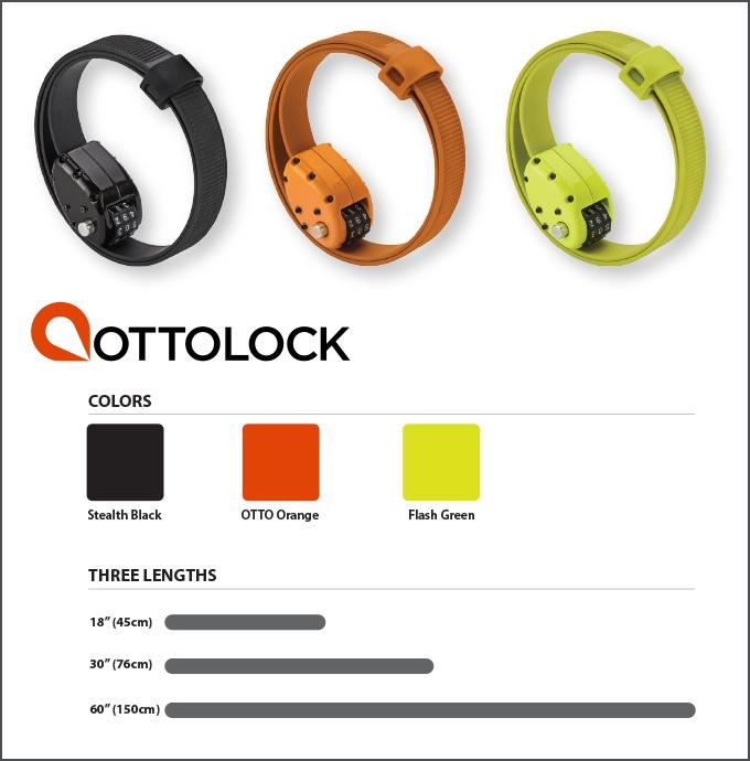 OTTOLOCK, OTTOLOCK, das lustige OTTOLCK - jetzt neu, in 3 tollen Farben (Bild: kickstarter/© OTTO DesignWorks)