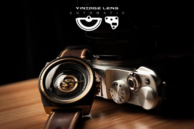 Uhr, schön ins Bild gesetzt - TACS (Bild: kickstarter/© Yuki Machino)