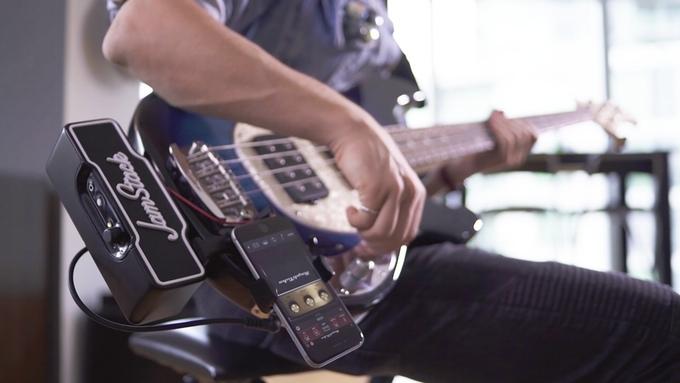Gitarrenverstärker to go - JamStack (Bild: kickstarter/©jamstack.io)