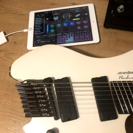 Second try – The Magnet Smartphone camera mount for the guitar