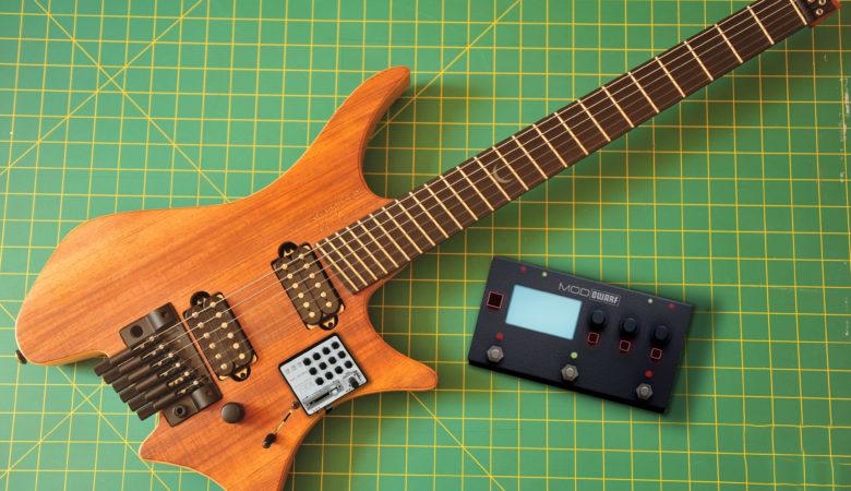 Noisemachine, Moddevice Dwarf und Strandberg. Eine Killer-Combo