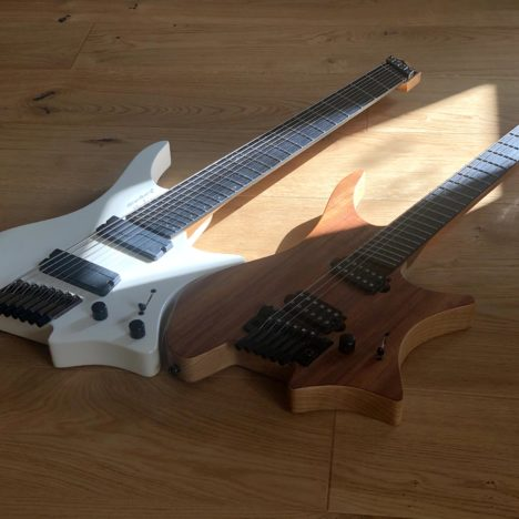 The way to the midi guitar –  synthesizer and keyboard with the Strandberg Boden